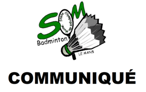 INTERRUPTION DU BADMINTON